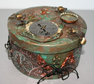 Steampunkbox rund