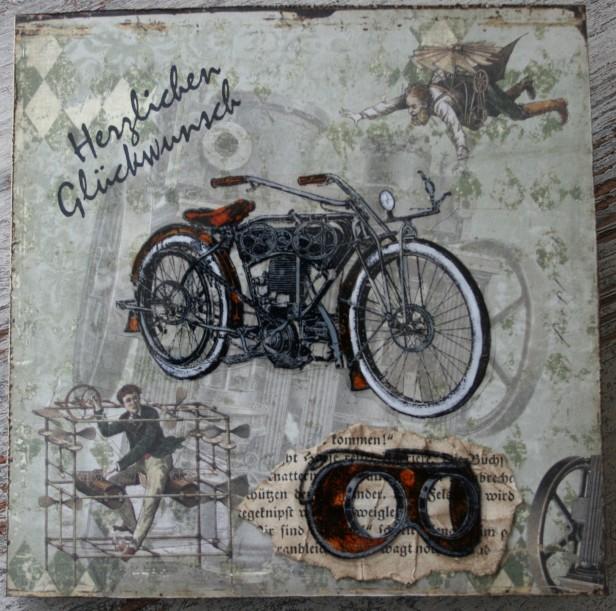 Karte: Motorrad