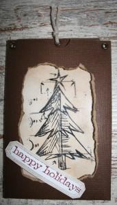 Sliderkarte: Weihnachtsbaum