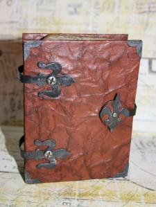 Ledergeschenkbox