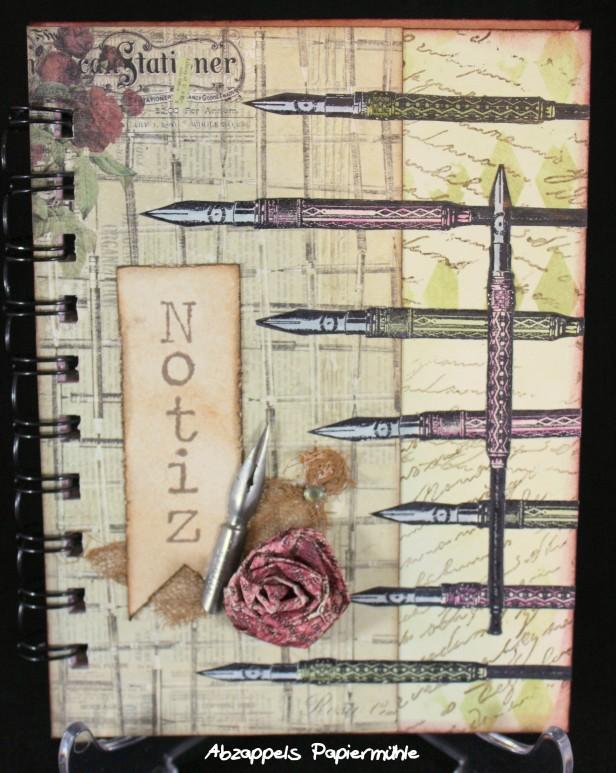Notizbuch Schreibfeder