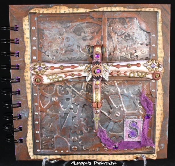 Notizbuch Steampunk Libelle